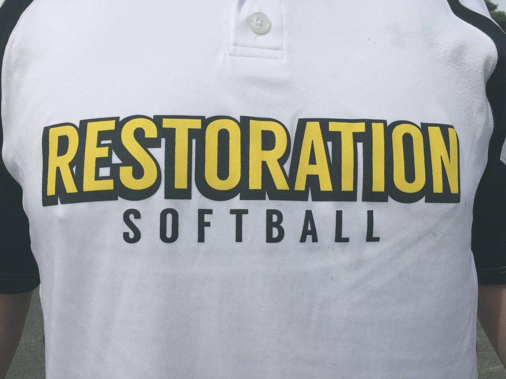 Restoration Church Softball - $42 to play