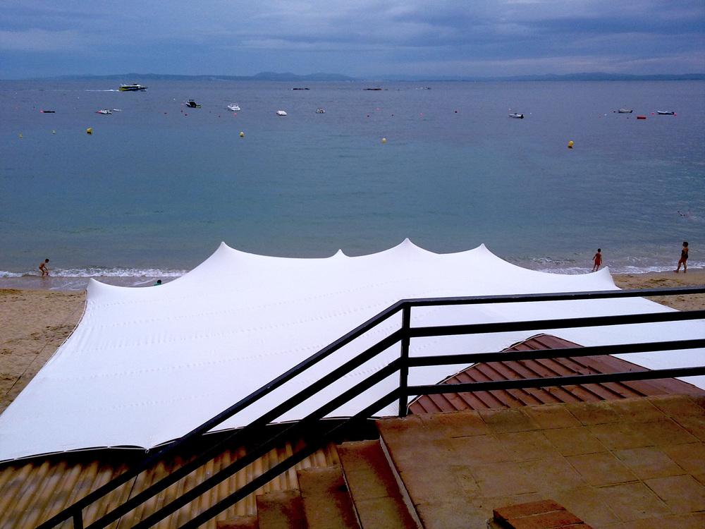 Carpas para bodas en la playa