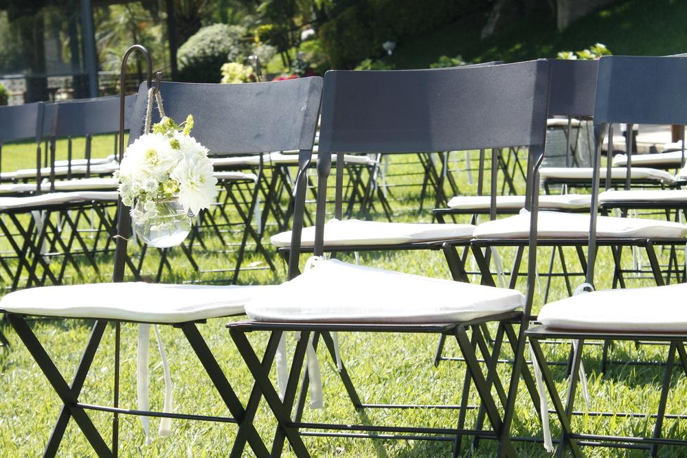 ceremonia con silla forja