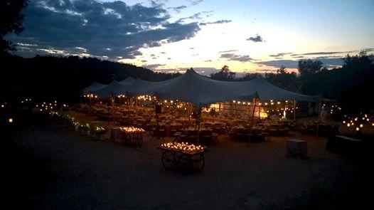 Alquiler de carpa e iluminación para eventos