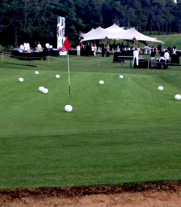 Alquiler de carpas para golf