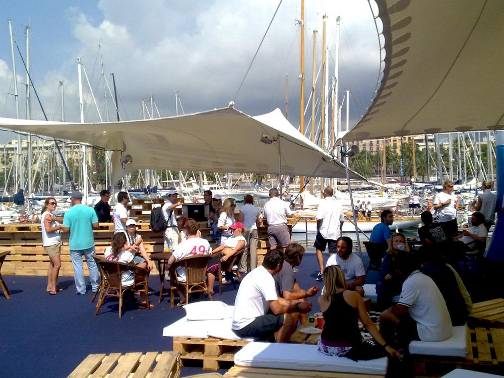 Alquiler de carpas Real CLub Nàutic Barcelona