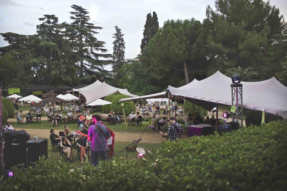 Alquiler de carpas para festivales y conciertos