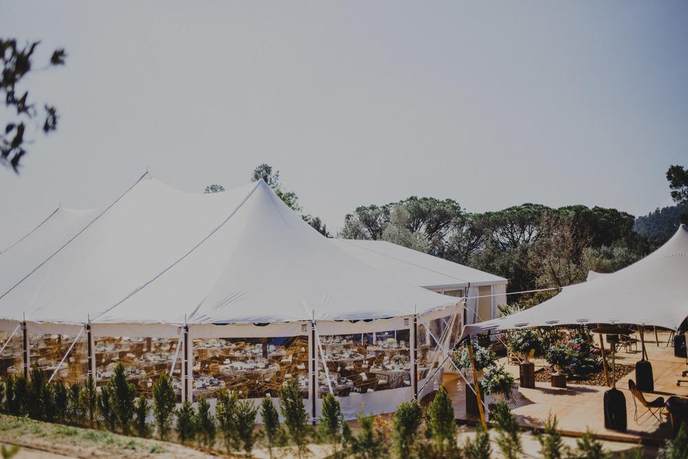 alquiler de carpa americana para bodas de alto standing