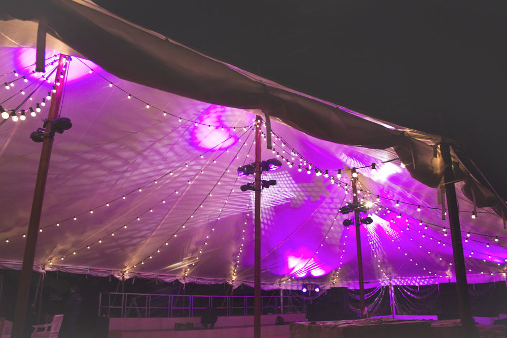 Decoración de bodas con carpa