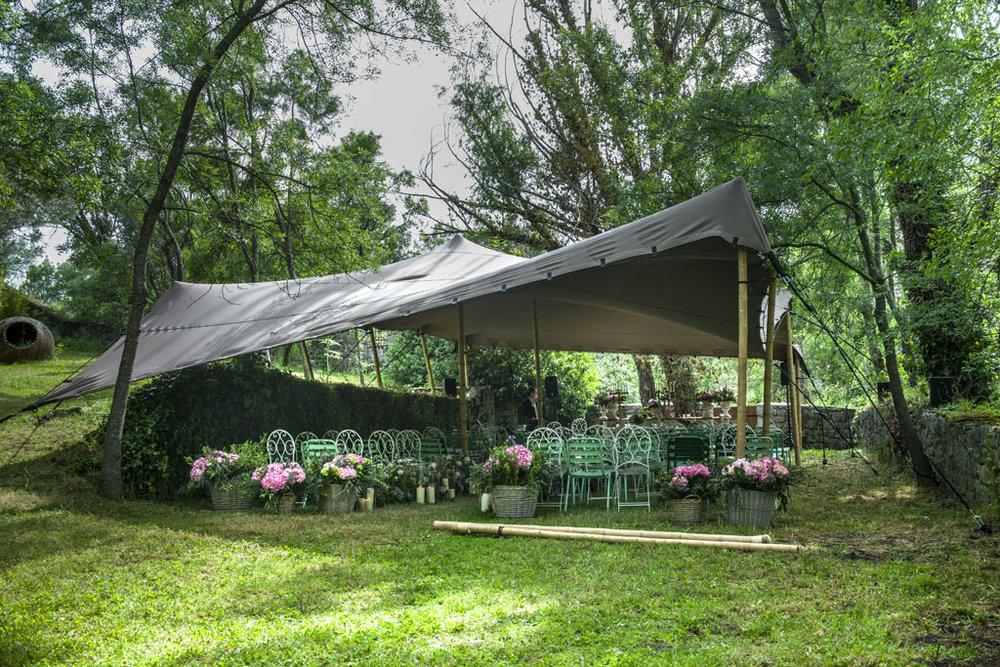 alquiler de carpas para ceremonias