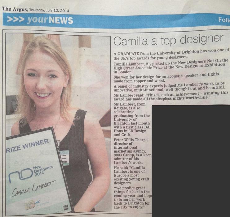 'Camilla A Top Designer'