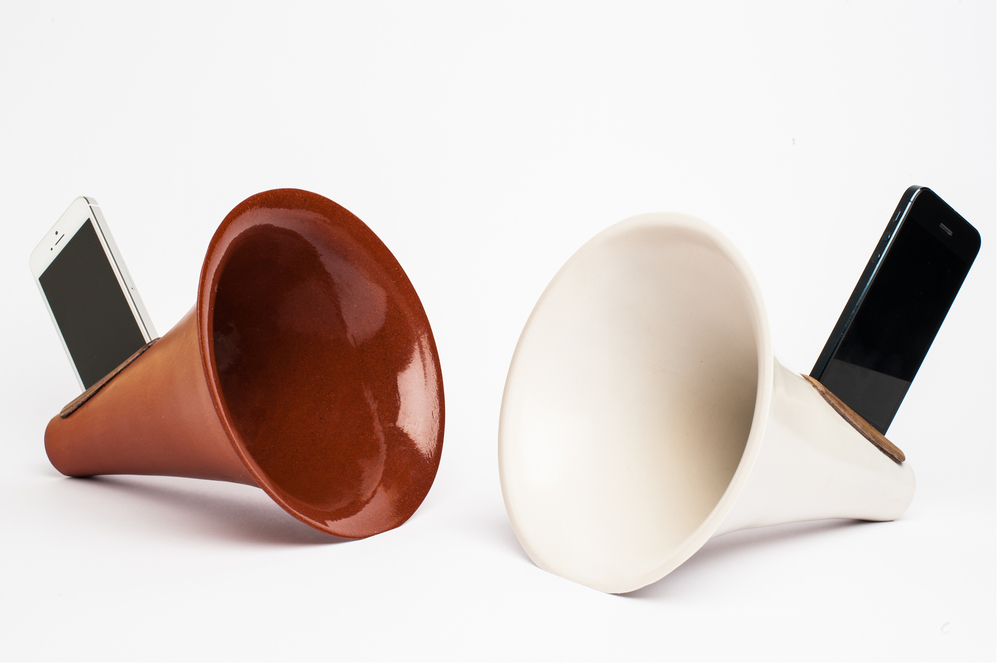 Preorder Ceramic iPhone Amplifier Here