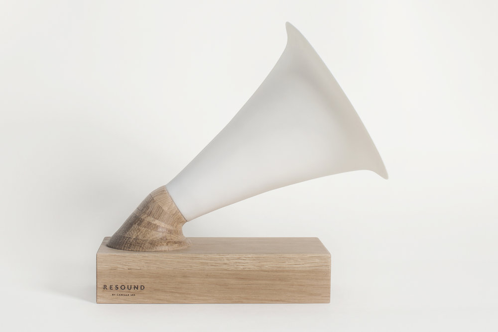 Resound No.2 · Oak + Ceramic
