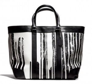 Coach-x-Krink-Large-Black-and-White-Tote