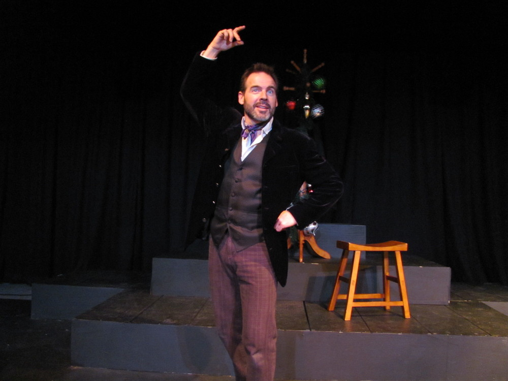 Neil McGarry in 'A Christmas Carol'