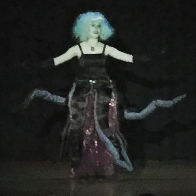 My Sunshine Girl made a magnificent evil sea witch! She totally slayed the villainous role of Ursula in her final high school production of The Little Mermaid this weekend. Kudos my dear, you were awesome to behold! On to the next chapter!! #proudmom #proudmommoment #ursulatheseawitch #ursula #mysunshinegirl #actingchops #soproudofher #nextchapter