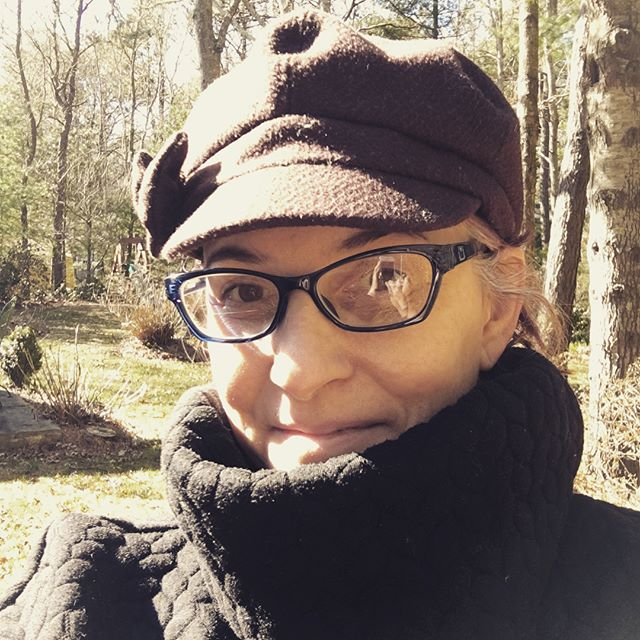 First time out in the backyard this year, taking a little sunbath this full moon weekend! Feels good to be out in nature on this beautigorgeous Cape Cod spring day! 🌳🍄🌞 #springisfinallyhere #capecodinsta #capecodlife #fullmoonvibes #sunbath #goodbyewinter #goodbyemarch
