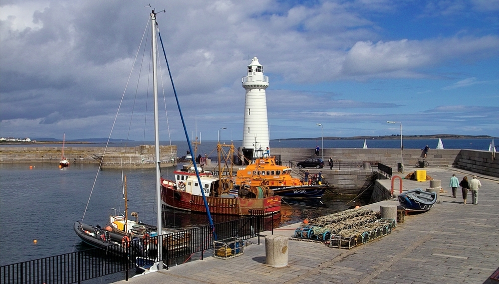 Donaghadee is a town of about 7,000 residents located on the Ards Peninsula in Northern Ireland. Once the main port for ferry traffic from Scotland, ...