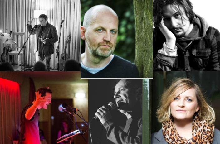 With Don Paterson, Dan Wilson (AKA Withered Hand), Hannah Lavery, Chris McQueer, Scott Tyrrell, Jenny Lindsay, Jim Monaghan, Colin McGuire, Karin Anderson and Carey Douglas