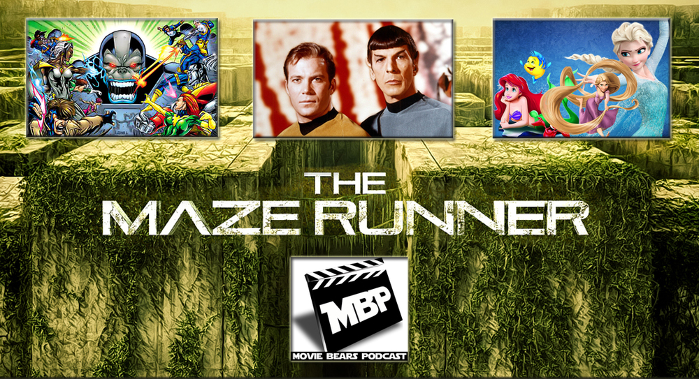 MBP e96 - 'The Maze Runner' (9/25/14)    This week the guys tackle 'The Maze Runner,' the new young-adult-novel-turned-action-movie about a maze...with people running through it. If you're on the fence, the bears give some advice on seeing this one before diving into spoilers. Click through to view!