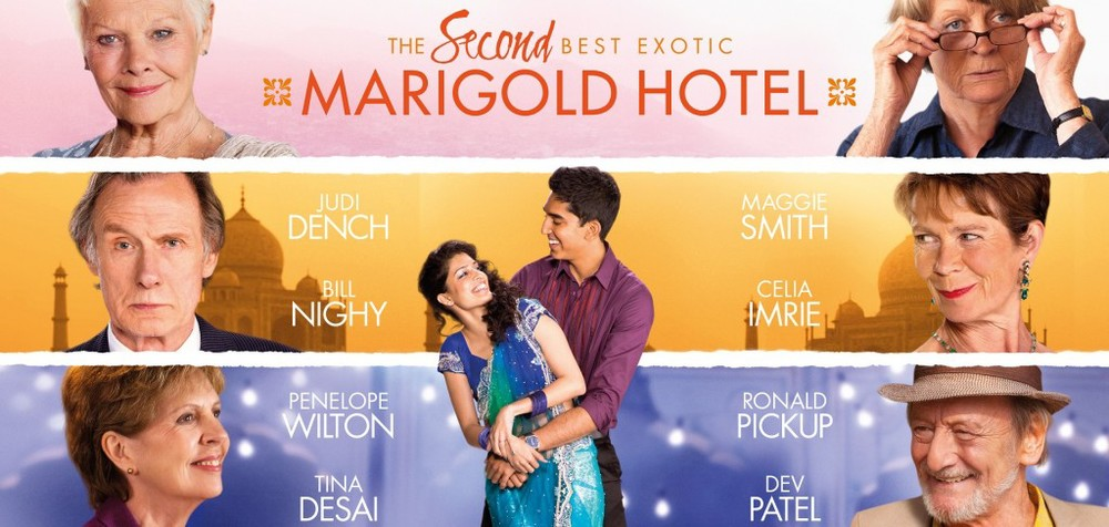 There is No Present Like the Time: 'The Second Best Exotic Marigold Hotel' Film Review  by Will Lindus