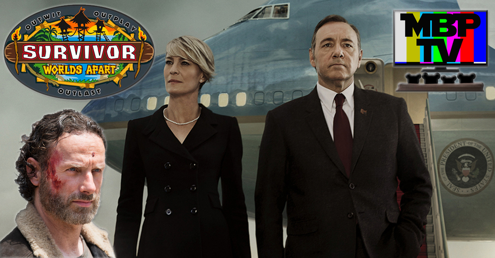 MBP TV e34 - House of Cards, Walking Dead, and Survivor (3/6/15)    MBP TV is back with reviews of new episodes of 'House of Cards,' 'The Walking Dead,' and 'Survivor!' As usual, the bears heavily spoil the plots so be warned! Click through to view.