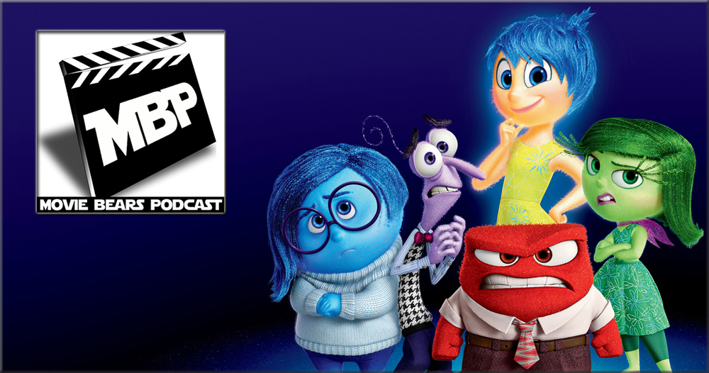 MBP e135 - 'Inside Out' (6/24/15)    This week, the bears review 'Inside Out,' the new animated adventure from Pixar! Does this film put Pixar back on top? Click through to find out!