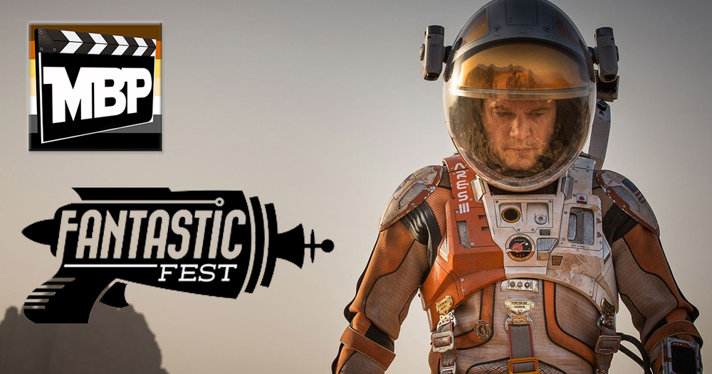 MBP e150 - 'The Martian' (10/09/15)    On this week's episode, we discuss 'The Martian' and catch up with Will's gorging, orgy-of-film at Fantastic Fest. Click through to listen!
