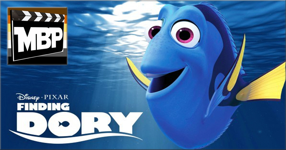 MBP e188 - 'Finding Dory' (6/24/16)    Wait, what movie are we reviewing again? Oh, right -- 'Finding Dory!' Is this follow-up film to 'Finding Nemo' worth your time? Tune in to find out! Click through to listen.