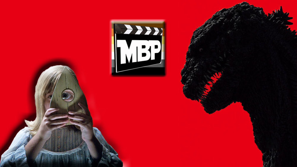 MBP e204 - 'Shin Godzilla' and 'Ouija: Origin of Evil' (10/28/16)    We're joined by Adrian Charlie of the Green Screen of Death Podcast as we enjoy a Halloween-themed ghouls and monsters episode. Is the new Toho kaiju film, 'Shin Godzilla,' a worthy part of the franchise? Can spooky ghost feature 'Ouija: Origin of Evil' overcome the negativity that the previous film in its line faced? Tune in to find out! Click through to listen.