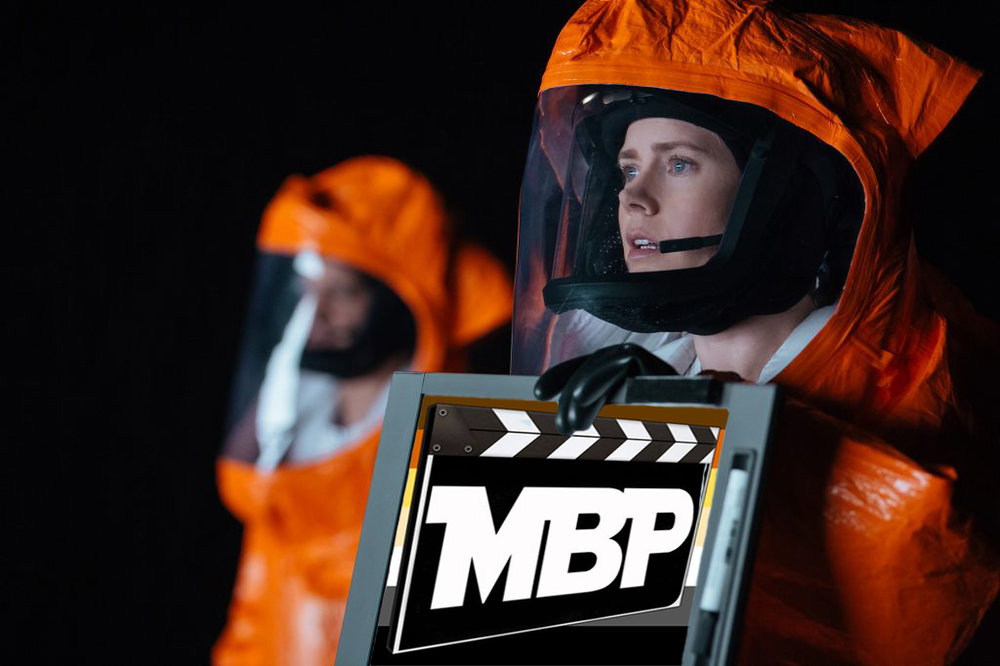MBP e207 - 'Arrival' (11/18/16)    One of the films we've most been looking forward to reviewing on the Movie Bears Podcast is 'Arrival,' the sci-fi feature by visionary filmmaker Denis Villeneuve. Does it live up to our lofty expectations? Tune in to find out! Click through to listen.