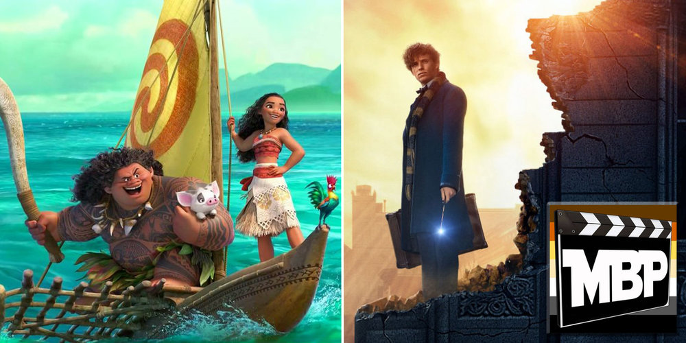 MBP e209 - 'Fantastic Beasts and Where to Find Them' and 'Moana' (12/2/16)    With a pair of big, family-friendly films released back to back, it might be challenging to choose between 'Fantastic Beasts and Where to Find Them' and 'Moana' as we head into the holiday season. Which film reigns supreme? Click through to listen.