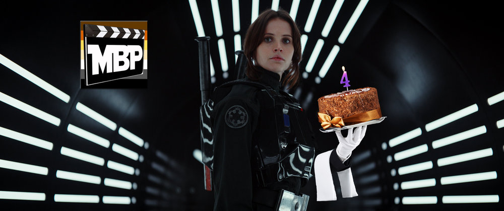MBP e212 - 'Rogue One: A Star Wars Story' and 4th Anniversary Special (12/23/16)    It's a big show! This week, we celebrate our 4 year anniversary as a podcast, THEN we review 'Rogue One: A Star Wars Story' with special guest Mike Lovins. Click through to listen.