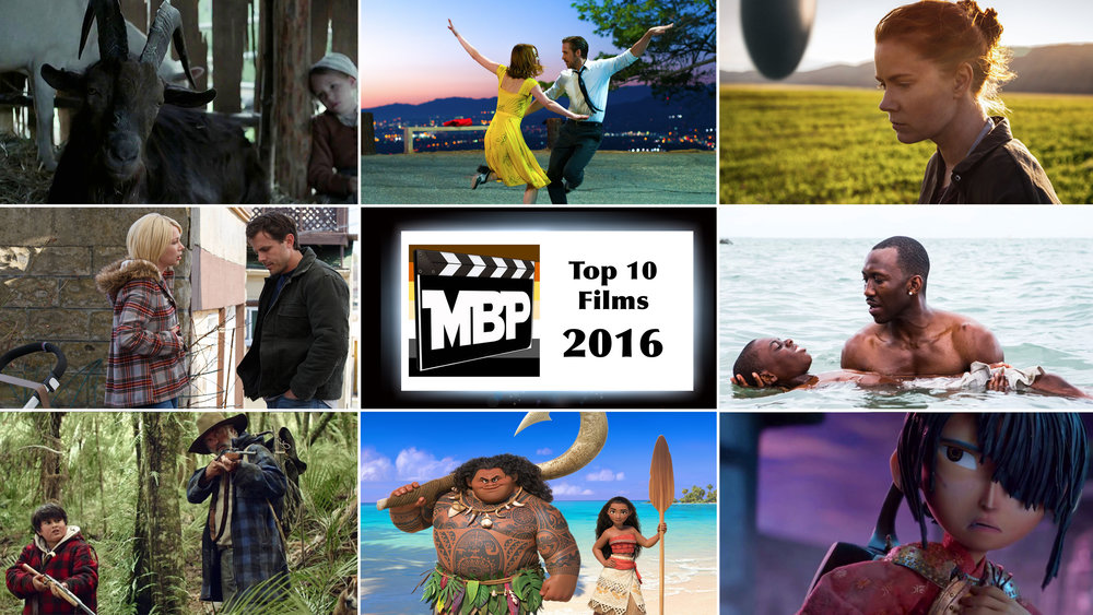MBP e216 - Top Ten Films of 2016 (1/20/   17)   2016 is in the books, and what a great year for film it was! Join us as we count down our personal top ten lists. Click through to listen!
