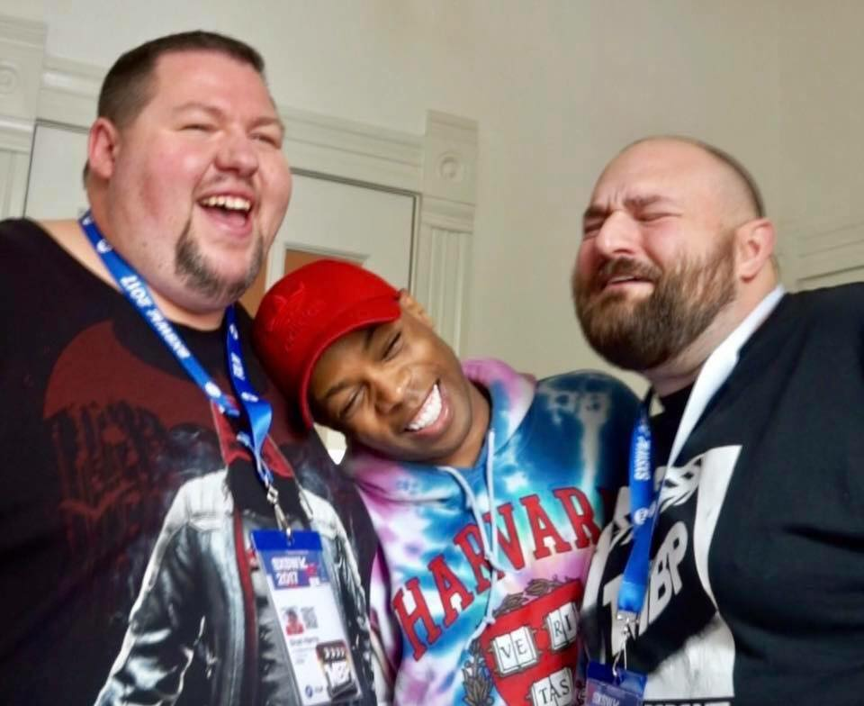 MBP e224 - Todrick Hall Interview (3/17/17)    This week, the Movie Bears are on location in Austin, Texas for SXSW! While there, we met up with YouTube, Broadway, and recording sensation Todrick Hall for a quick chat. Find out what Todrick had to say about his creative process, the inclusion of his life story in his music, and his experiences on RuPaul's Drag Race in this Movie Bears Podcast exclusive interview!