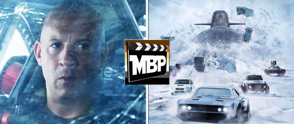 MBP e230 - 'The Fate of the Furious' (4/21/17)    It's time for another installment of fast cars, high octane action, and mumbling about the importance of family. That's right, this week we're reviewing 'The Fate of the Furious.' Did this one speed into our hearts? Or did it crash and burn? Click through to find out!