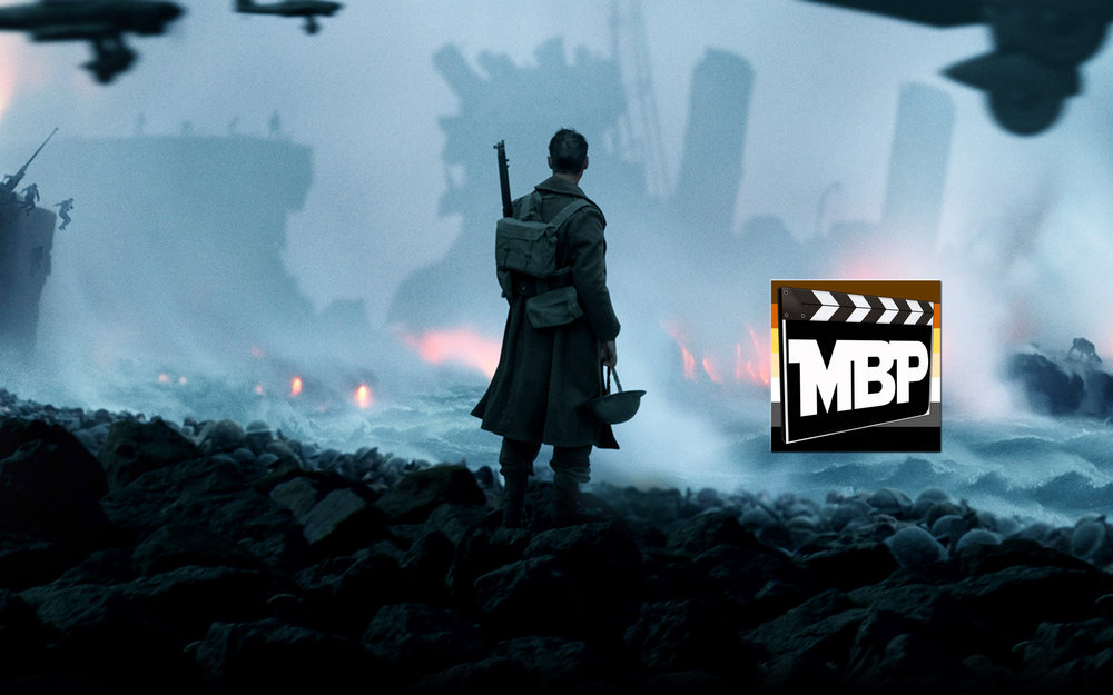 MBP e244 - 'Dunkirk' and Comic-Con Trailers (7/28/17)    After a rousing look at some of the hottest trailers coming out of San Diego Comic-Con, the boys turn their attention to 'Dunkirk,' the new World War 2 film by Christopher Nolan. How does this one stack up against his other films? And how does it rank against other 2017 film offerings? Click through to listen!