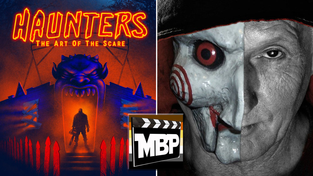 MBP e258 - 'Jigsaw' and 'Haunters: The Art of the Scare' (11/3/17)    Do you want to play a game? On this week's episode, we check in with 'Jigsaw' in the 8th installment of the horror franchise. We're also joined by filmmaker Jon Schnitzer and scream queen Jessica Cameron to discuss 'Haunters: The Art of the Scare,' an intense documentary about extreme haunted houses.
