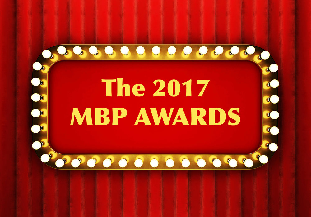 MBP e266 - The 2017 MBP Awards (1/12/18)    Okay, we don't have statues to hand out, but we DO Have several awards to bestow upon some of our favorite performers, films, and movie moments of the year. Click through to listen to the 2017 MBP Awards ceremony!