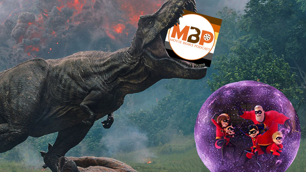 MBP e286 - 'Incredibles 2' and 'Jurassic World: Fallen Kingdom' (6/19/18)    It's a blockbuster show, with the Movie Bears talking about a trio of big franchises. We check in with the Star Wars universe as we discuss the latest in Star Wars spin-off film news before reviewing Pixar's animated super hero flick, 'Incredibles 2.' Then, we charter a ship for Isla Nublar as we return to 'Jurassic World: Fallen Kingdom.'