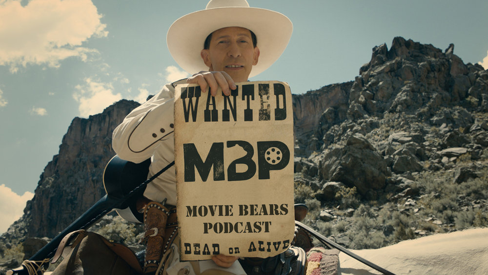 M   BP e303 - 'The Ballad of Buster Scruggs' (12/5/18)    With distribution directly to Netflix, the new Coen brothers western anthology film, 'The Ballad of Buster Scruggs,' is accessible to most people right now. But should you saddle up and give this one a watch? Or should this film die of dysentery on the Oregon Trail? Hear our thoughts to help you decide!