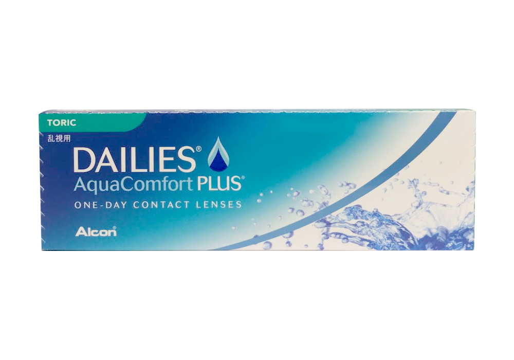 A    lcon     Dailies AquaComfort Plus Toric   $35.00 per box