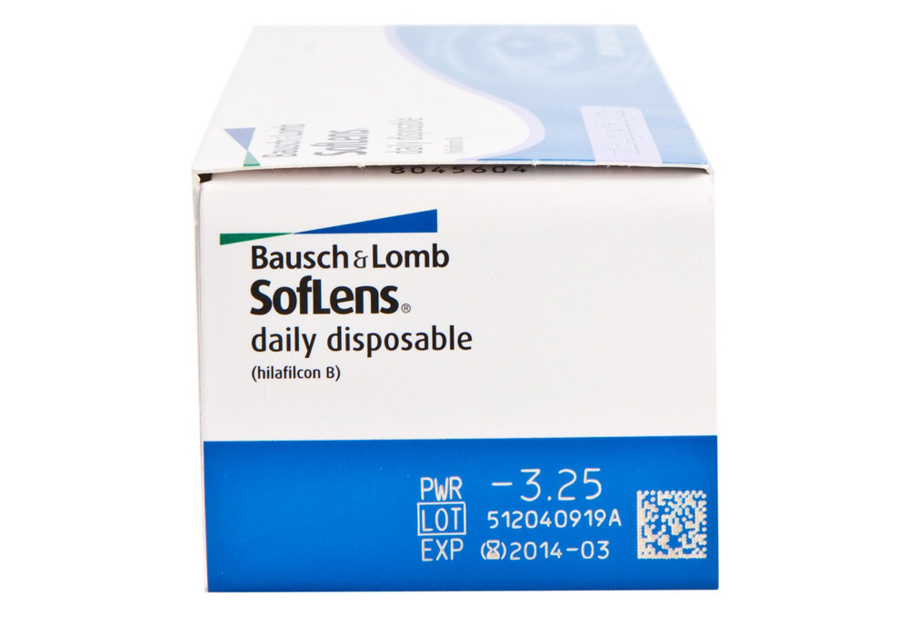 Bausch + Lomb SoftLens Daily Disposable Lenses
