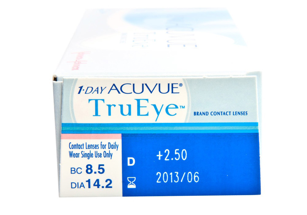 1 Day Acuvue TruEye 30s Side
