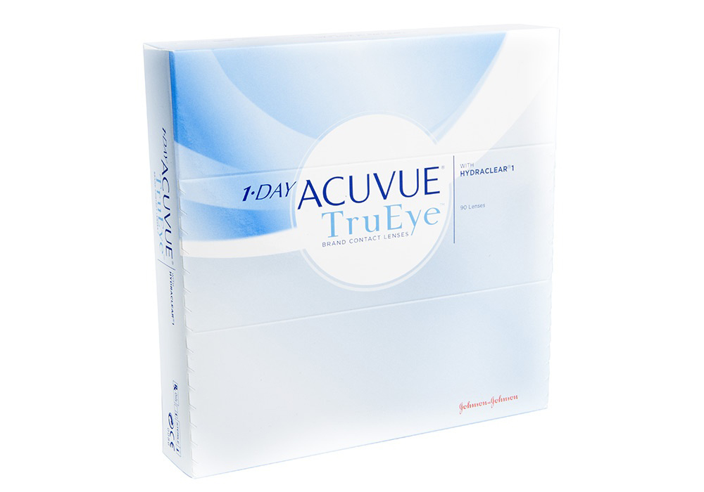 1 Day Acuvue TruEye 90s Front