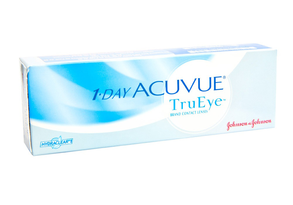 Johnson & Johnson 1 Day Acuvue TruEye   $37.50 per box