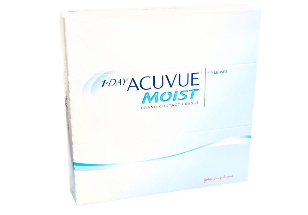 1 Day Acuvue Moist 90s