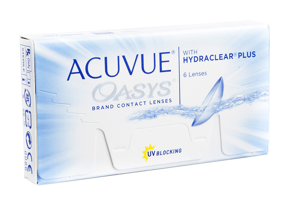 Johnson & Johnson Acuvue Oasys  $35.00 per box