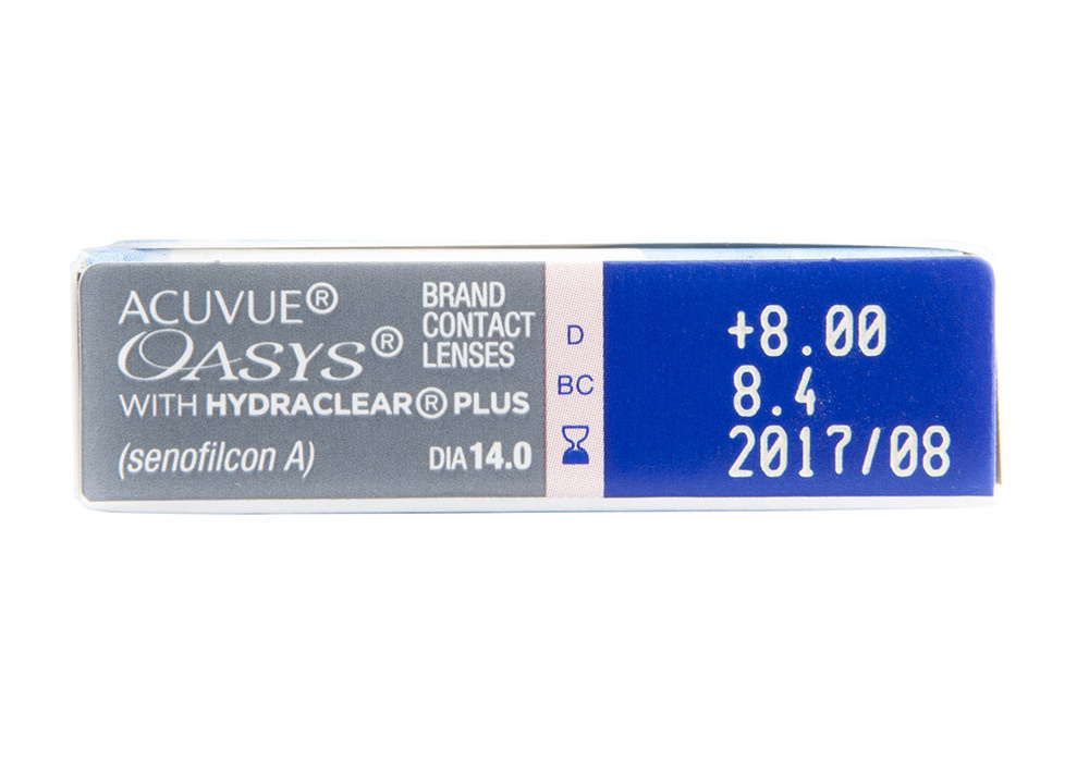 Acuvue Oasys 6 Pack Side