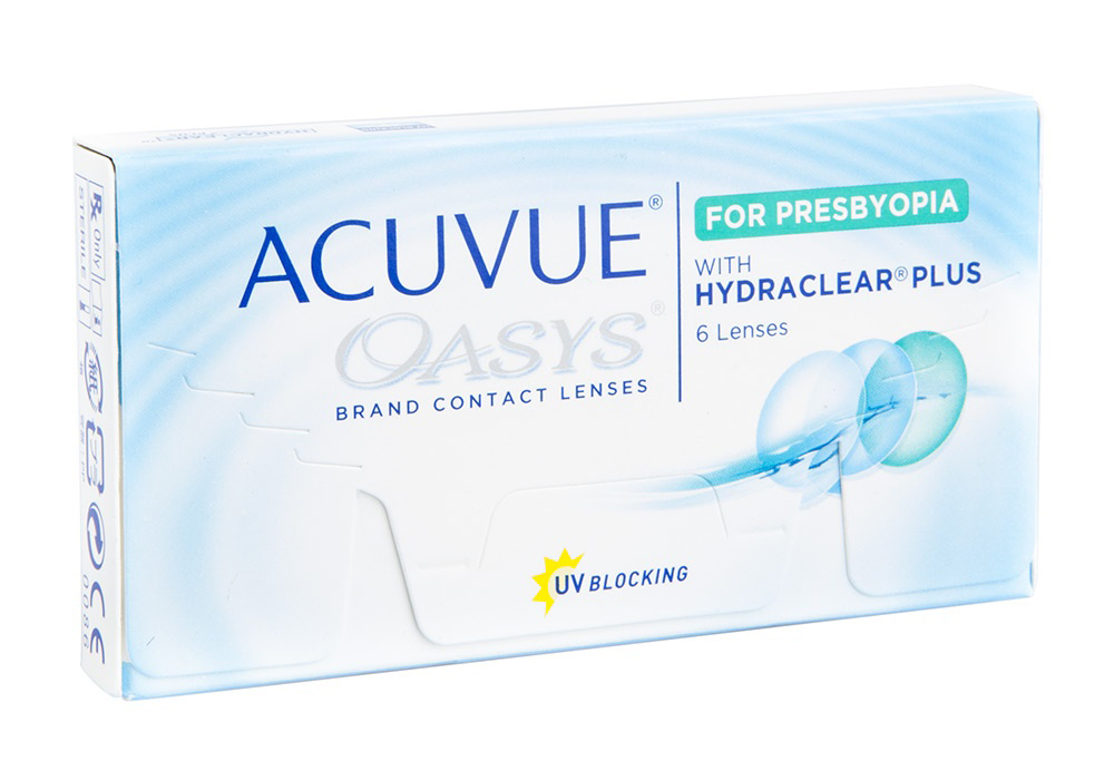 Johnson & Johnson Acuvue Oasys for Presbyopia $50.00 per box