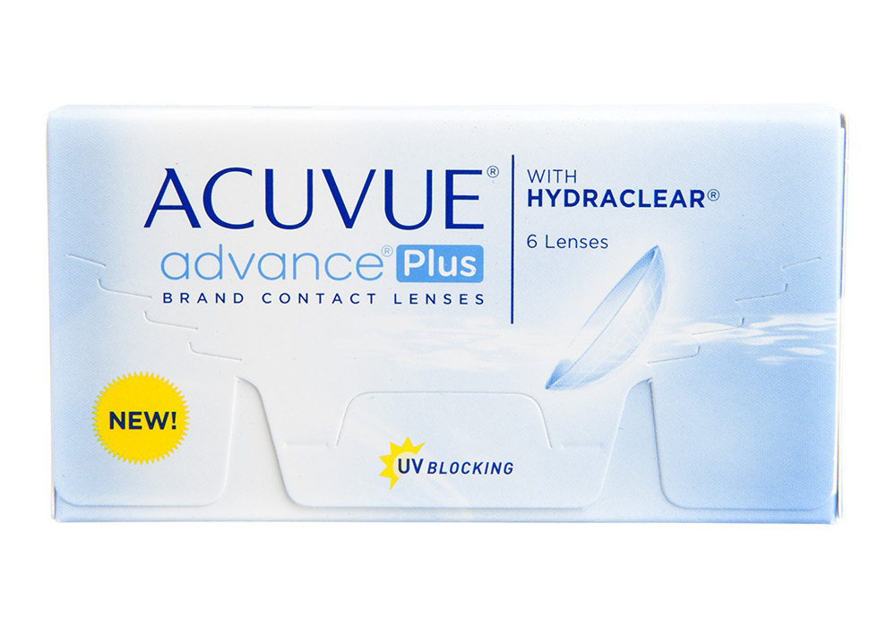 Johnson & Johnson Acuvue Advance Plus $30.00 per box