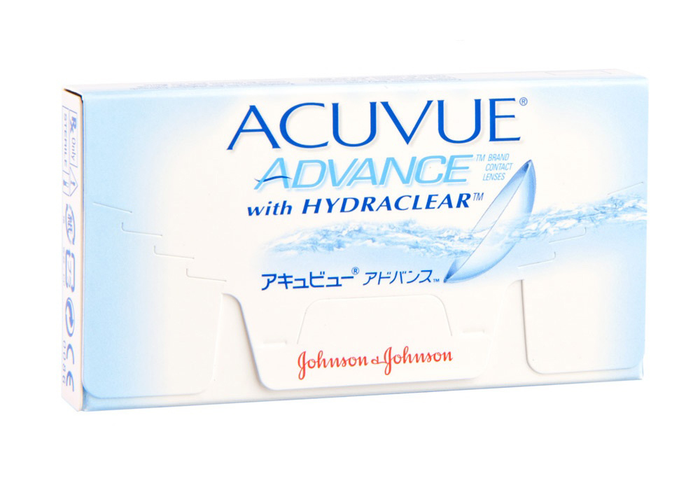 Johnson & Johnson Acuvue Advance $35.00 per box
