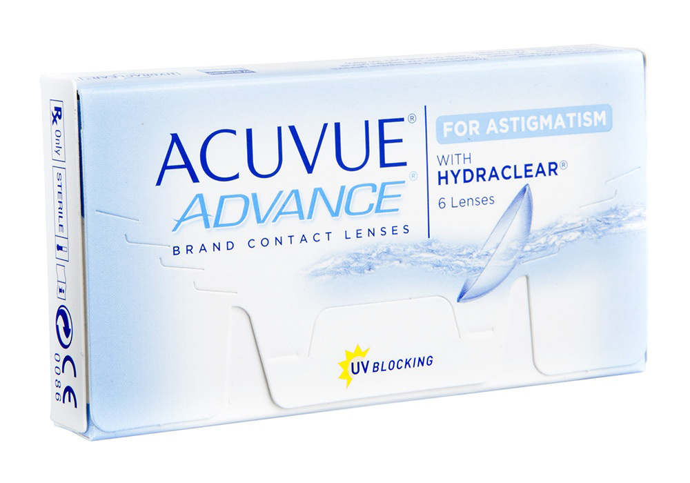 Johnson & Johnson Acuvue Advance for Astigmatism $50.00 per box