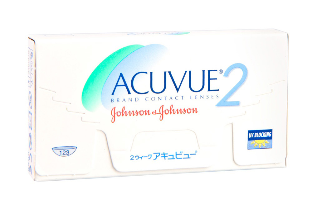 Johnson & Johnson Acuvue 2 $25.00 per box